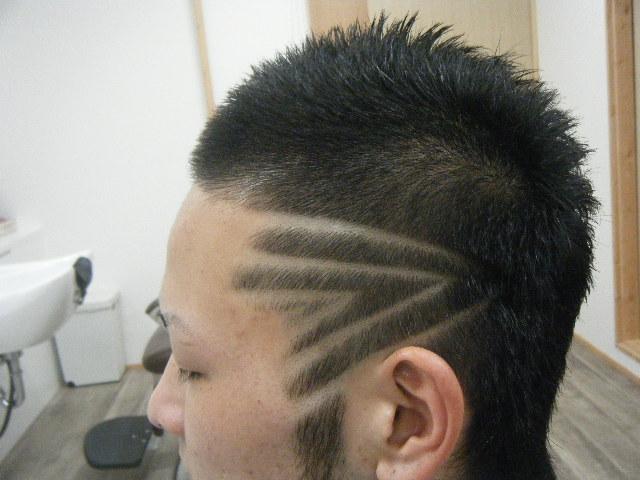 髪型 髪型 ライン バリカン , 写真 52
