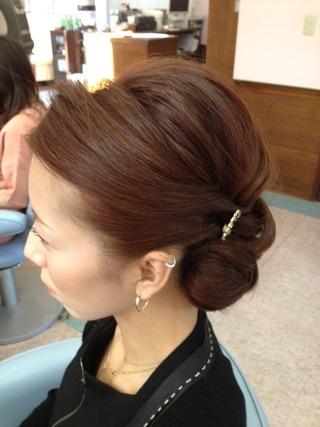 最新のヘアスタイル お葬式 髪型 女性  美容室グリース御前崎店の語り