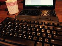 【仕事の相棒】変わったキーボードは効率が高まる♪