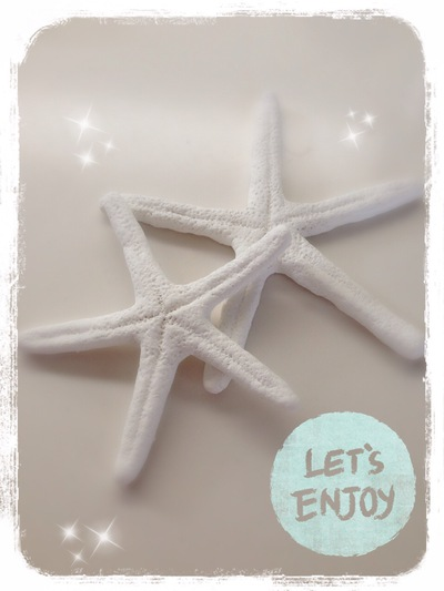 スターフィッシュを100均紙粘土で簡単DIY★