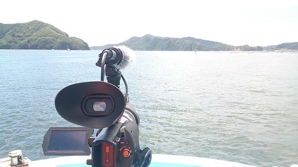 岩手県 大船渡市 大船渡湾 風景 撮影 かき漁