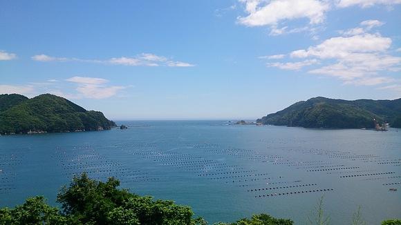 岩手県 大船渡市 大船渡湾 風景 撮影 かき漁 漁船