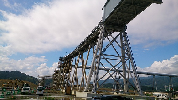 岩手県 陸前高田 一本松 撮影 風景 復興  震災後 つめ痕 パイプライン