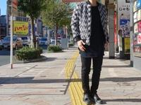 Style Photo…NO ID.のネップツイードリバーシブルBLZ(439006-984B)