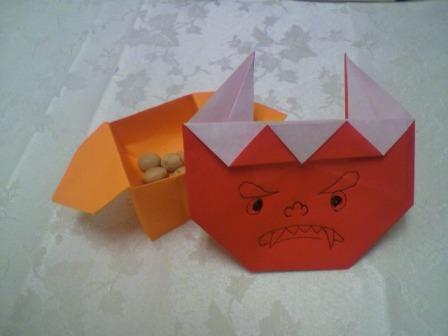 ハート 折り紙 折り紙鬼作り方 : divulgando.net