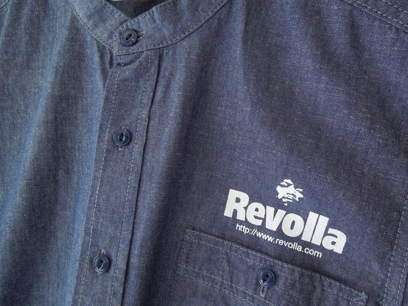 REVOLLA シャンブレー シャツ