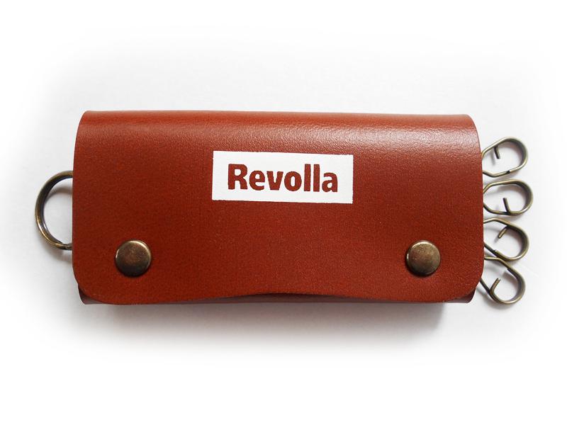 REVOLLA 本革キーケース