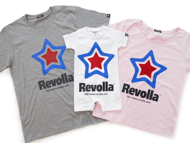 REVOLLA トリコロール Tシャツ