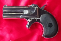 ★マルシン製デリンジャー 8mm口径ガスガン 上下2連発,特4958円