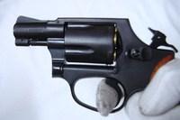 S&W M36 2in メガHW後撃針カート&手仕上げニス木製グリップ付