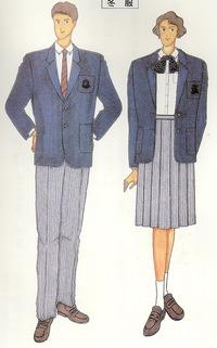 岩瀬高校の制服はメイドインジャパン?