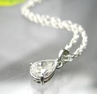 ペアーシェイプカットのダイヤモンド
