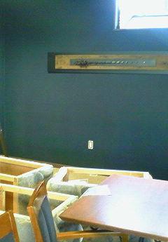 改装工事1日目:壁紙が替わりました!